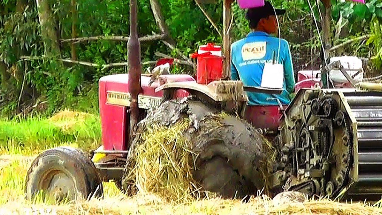 Đất lún mà chạy cỡ này máy cày nhỏ nhưng nội công không hề nhỏ máy cày độc