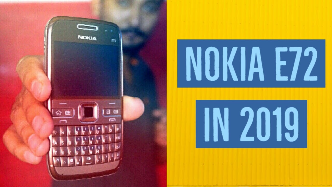 Nokia E72 in 2019 ??? 🤔 For whom and why  Nokia E series 2009 hands  on (hindi)