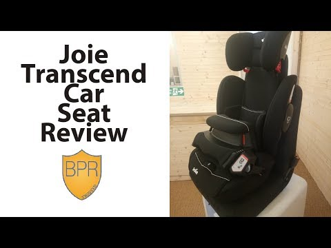 Joie Transcend Car Seat Review | BuggyPramReviews