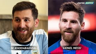 20 Orang Yang Wajah Nya Mirip Banget Sama Pemain Sepak Bola ● Starting Eleven