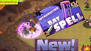 Bat Spell - New Update 12/2018 - Clash Of Clans War