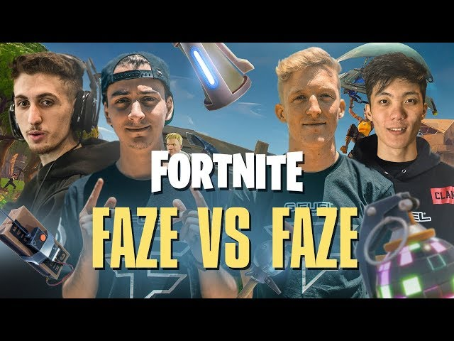 FAZE vs FAZE on Fortnite! - Pro Playground 1v1s