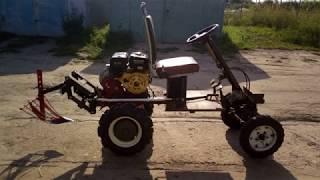 мини трактор своими руками из мотоблока Нева