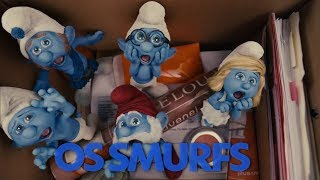 """Chamada do filme """"Os Smurfs"""" na Sessão da Tarde da TV Anhanguera (07/09/2017)"""