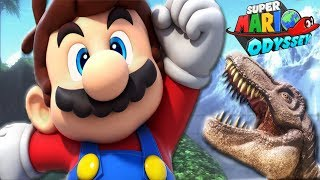 СУПЕР МАРИО ОДИССЕЙ #5 мультик игра для детей Super Mario Odyssey woodedkingdom Детский летсплей
