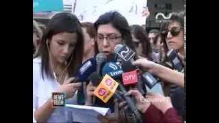 باسم سيدات لبنان جمعية كفى تطالب باقرار قانون العنف الأسري