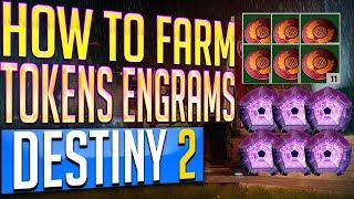 Increase Power Level Quick!! Destiny 2 Easy Loot Chest Farm! Nessus Tokens & Legendary Engrams