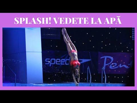 Andreea Antonescu, saritura de exceptie in semifinala Splash! Vedete la apa!