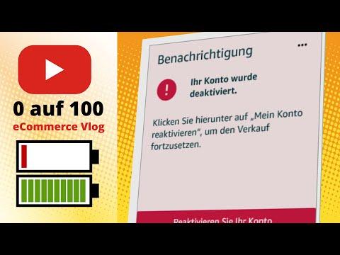 eCommerce Vlog 0-100 #1: Amazon Seller Account wurde gesperrt - Trailer zu unserem neuen Vlog