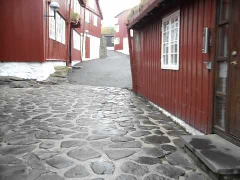 Walking in Tinganes