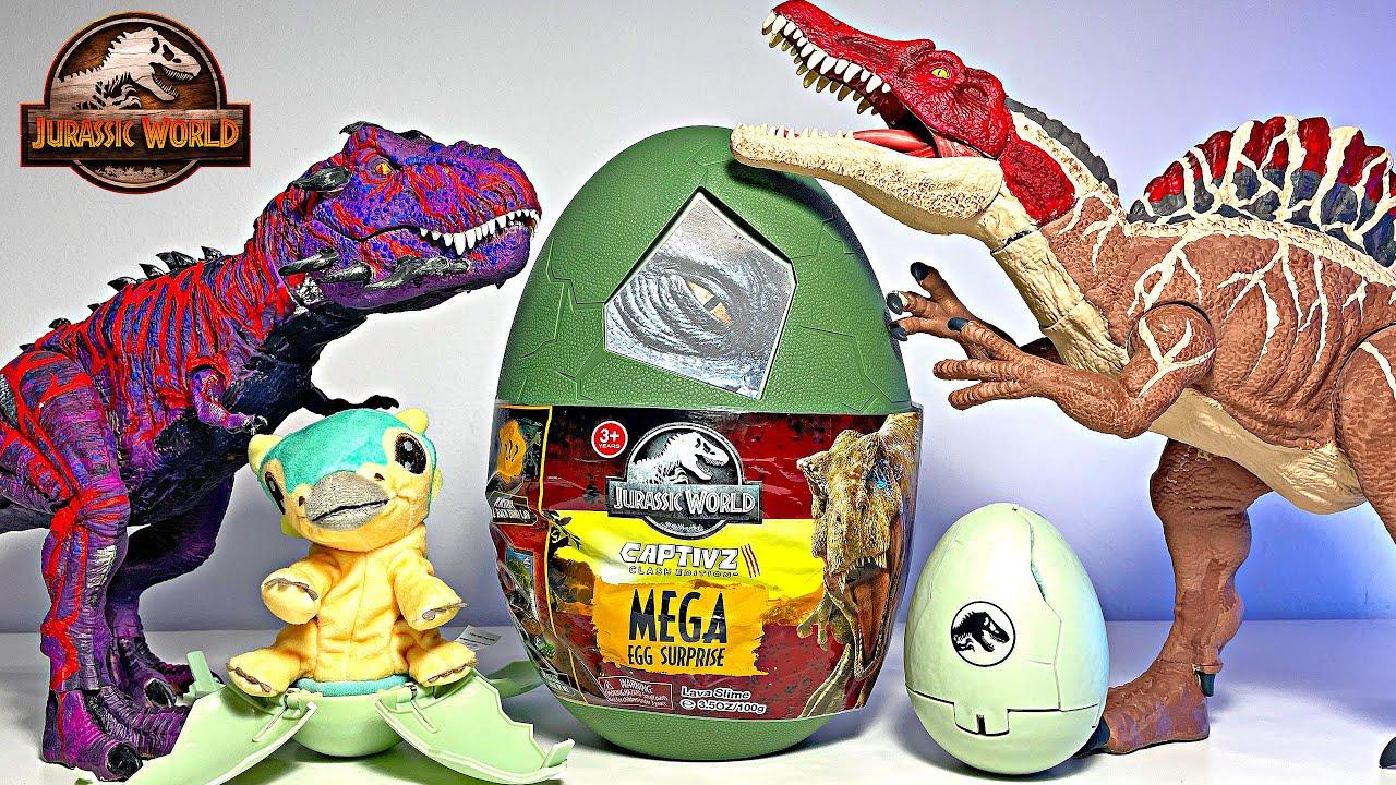 Hatching New Dinosaurs! Jurassic World Dinosaurs Camp Cretaceous