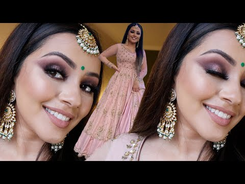 MAKEUP TRANSFORMATION INDIAN WEDDING GET READY WITH ME | KAUSHAL BEAUTY thumbnail
