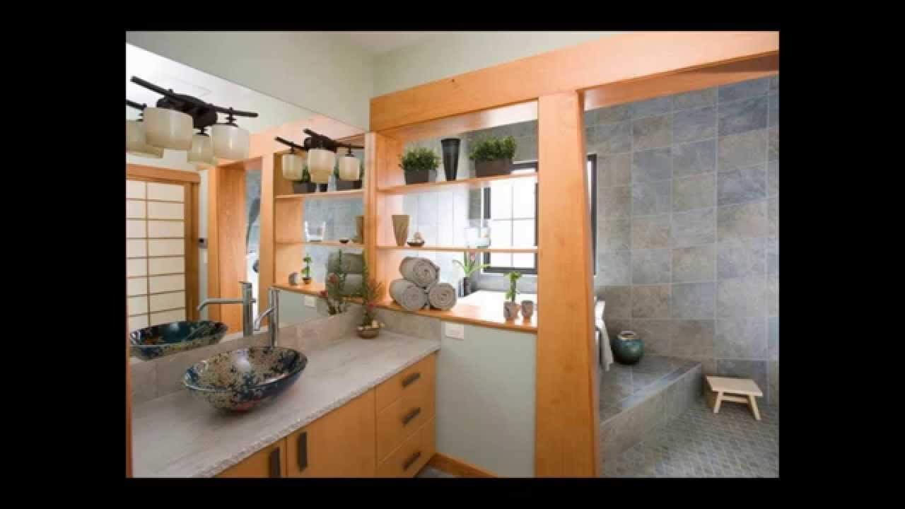 Japanese style bathroom youtube for Bathroom designs japanese style