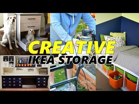 25 IKEA Storage And Furniture Hack