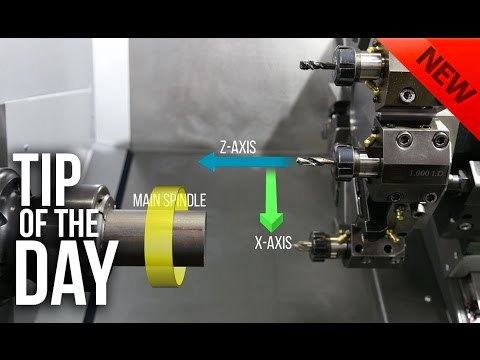 Drilling on a Haas Lathe: Everything You Need to Know – Haas Automation Tip of the Day