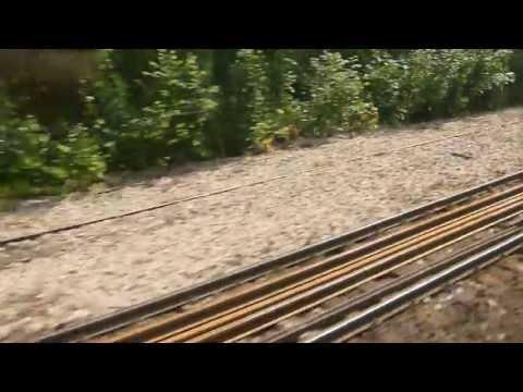 S-Bahn Berlin - Mitfahrt im Zug der Bauart Klo Schönholz - Wittenau S1