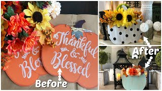 DOLLAR TREE DIY | FALL PUMPKIN MAKEOVER! 2019