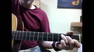 Old Rugged Cross - Tutorial (Brad Paisley version)