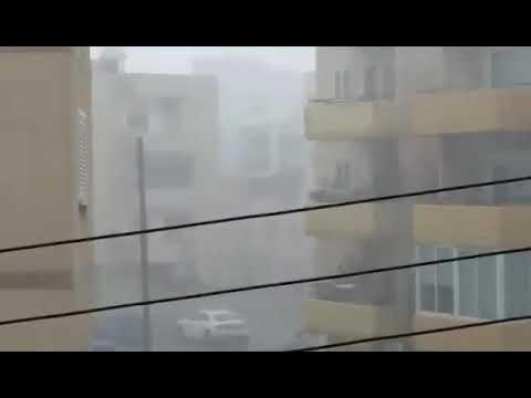 Ισχυρή καταιγίδα στην Λάρνακα 13:00, 15/9/2019
