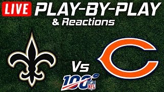 Saints vs Bears | Live Play-By-Play & Reactions