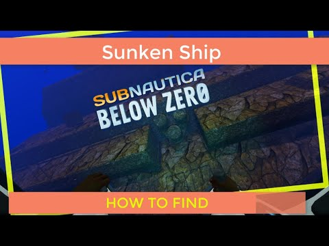 Subnautica Below Zero Exploring the Sunken Ship | Ship Wreck Salvage Part 1