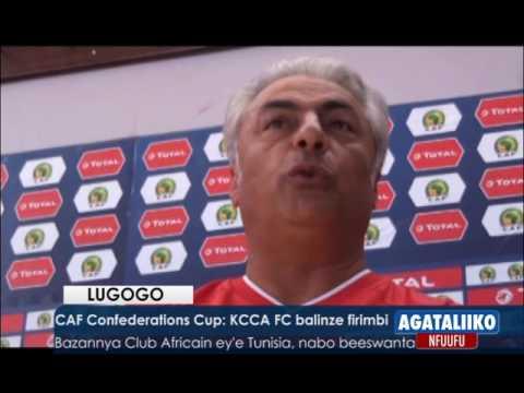 SPORTS:CAF Confederations Cup,KCCA FC balinze firimbi