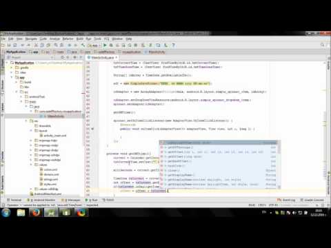 Develop simple World Clock app in Android Studio