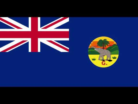 The anthem of the British Protectorate and Crown Colony of The Gambia