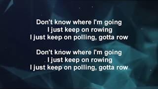 Soundgarden - Rowing  (Lyrics)