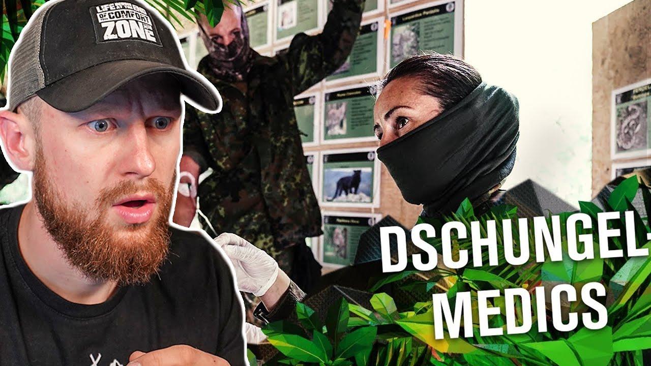 So arbeiten MEDICS beim KSK im DSCHUNGEL - KSK Ausbildung bei der Bundeswehr | Fritz Meinecke