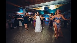 Ana Apsaradha & Apsaradhe bellydancing at our wedding!