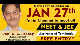 NEET 2019 Preparation Tips & Best Strategies by DC Pandey | Venper Academy Advisory Panel