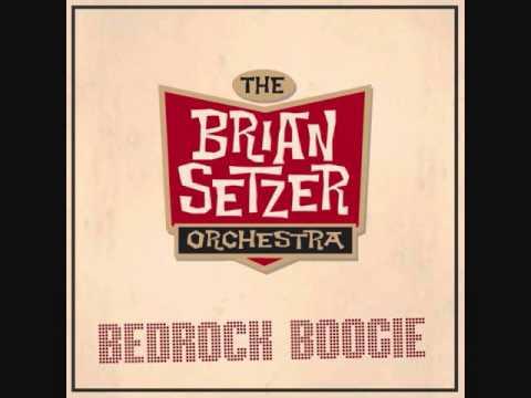 the brian setzer orchestra  /  bedrock boogie