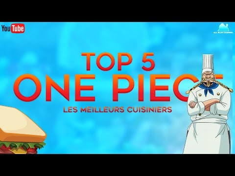 TOP 5 ONE PIECE - Les meilleurs cuisiniers ! | DATA #4