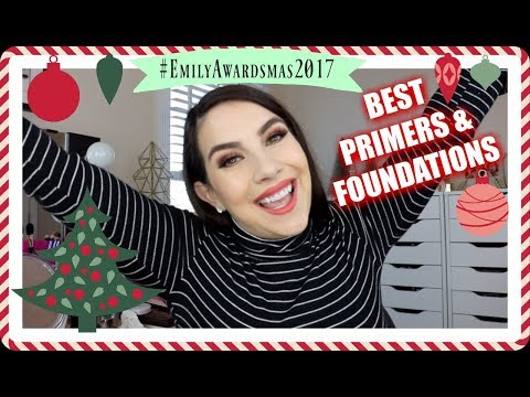 EMILY AWARDS: Best Primers & Foundations 2017