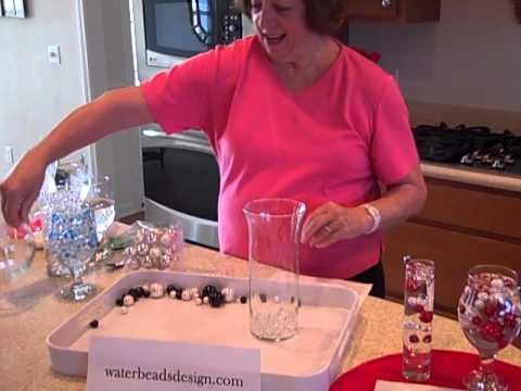 Vase Pearls and how to store water beads.AVI