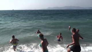 Kipriotis Village Hotel - Seaside swim in front of the hotel Thumbnail