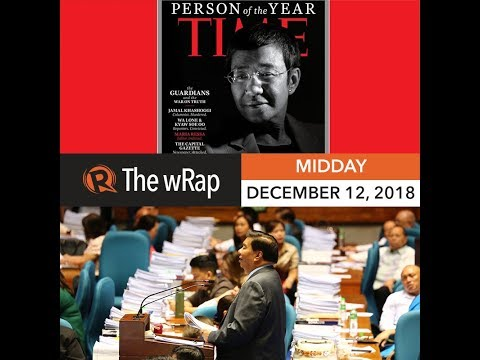 Maria Ressa is Time 'Person Of The Year'   Midday wRap