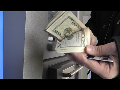 Как снять деньги с американской карты в россии
