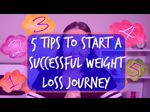 How to start a successful weight loss journey | First 5 steps to take
