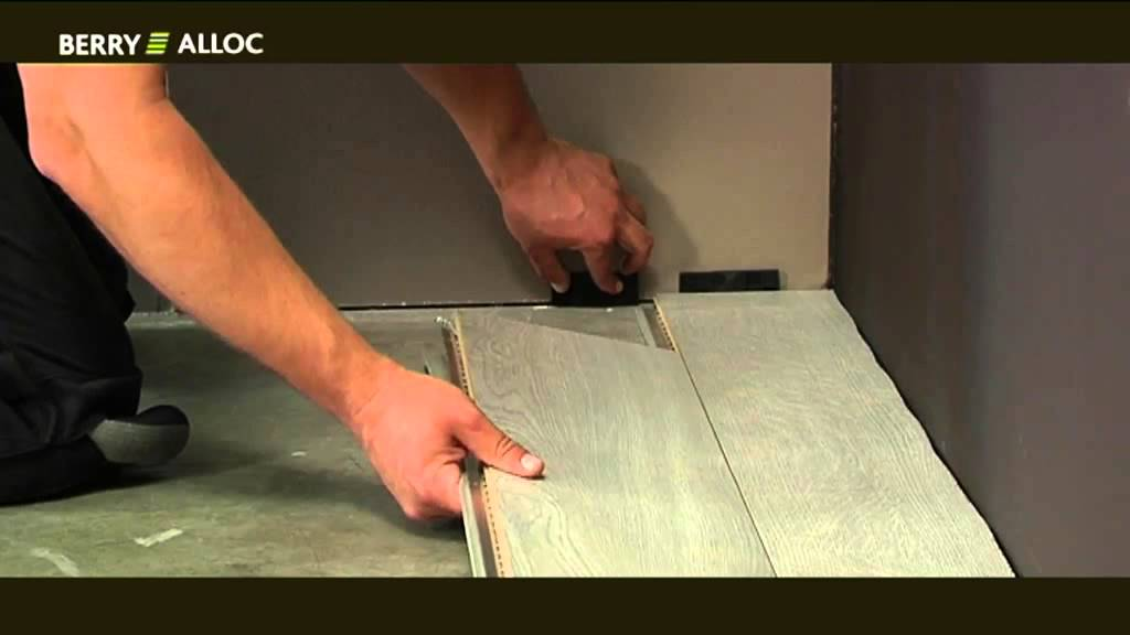 Berryalloc Installation Video High Tech Laminate Original And