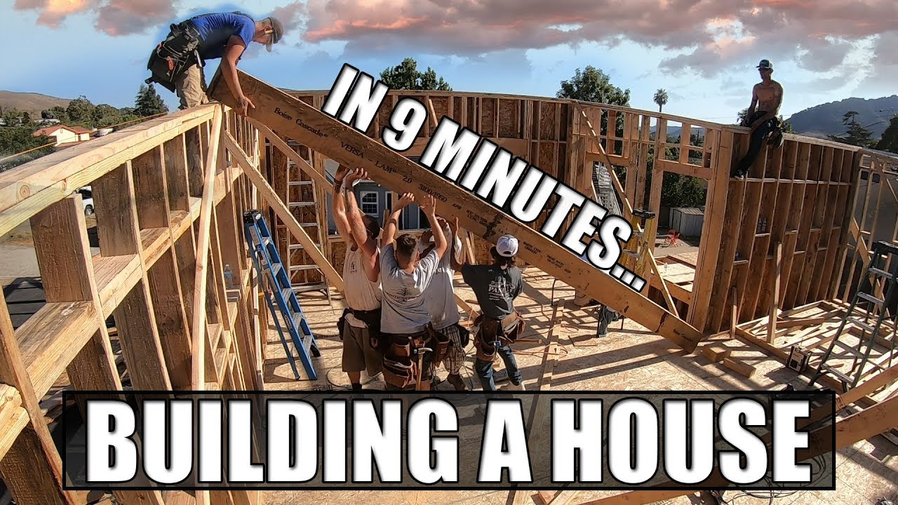 Download Building A House In 9 Minutes: A Construction Time-Lapse