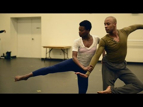 Alvin Ailey dancer on building chemistry onstage