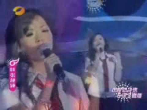 Chinese singer Jane Zhang (Zhang Liang Ying)