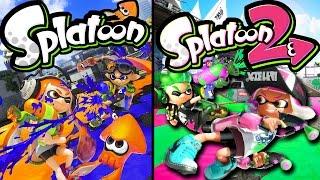 Splatoon Wii U Gameplay - Splatoon 2 Switch Info Hands-On Impressions - Splaturday Night LIVE Stream