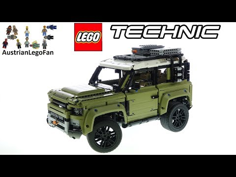 LEGO Technic 42110 Land Rover Defender - Lego Speed Build Review