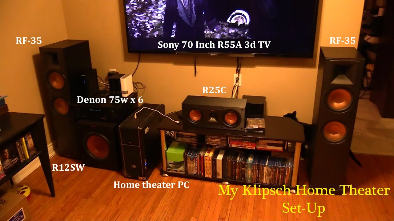 klipsch 8 inch subwoofer. klipsch reference series home theater integrated pc with 8 terabytes of storage - youtube inch subwoofer
