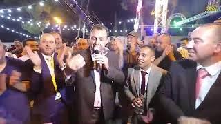شادي البوريني يتحدا الشاعر أكرم البوريني أمام عدد كبير من الجماهير شوف مين غلب مهرجان العريس عصام بر