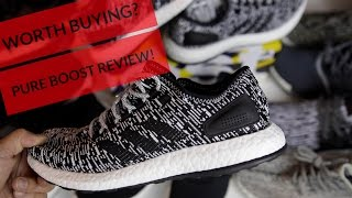 WORTH BUYING? ADIDAS PUREBOOST 2017 REVIEW (W/ COMPARISON TO ULTRA BOOST / NMD / YEEZY)