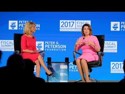 Congressional Leaders: Rising Debt & the Legislative Agenda, w/ House Democratic Leader Nancy Pelosi